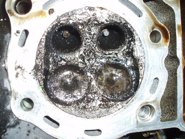 PUCH 250 SGS piston percé