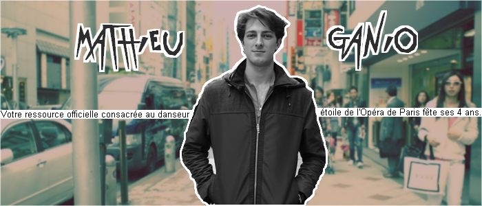 MATHIEU GANIO // FORUM OFFICIEL !