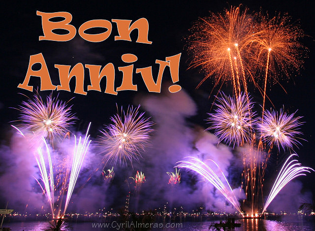 Поздравление на французском с днем 75