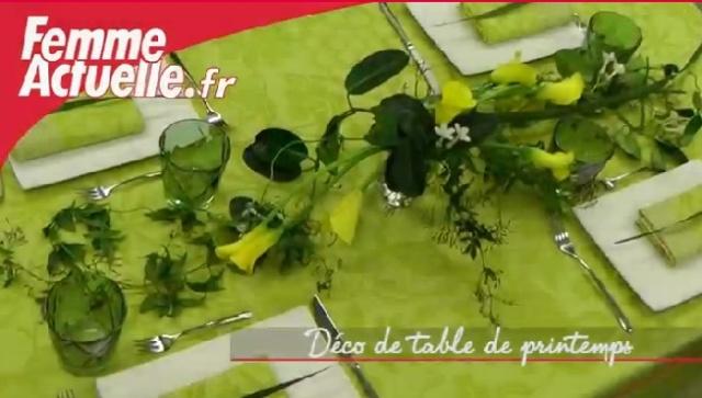 D co milieu de table printemps - Deco table printemps ...