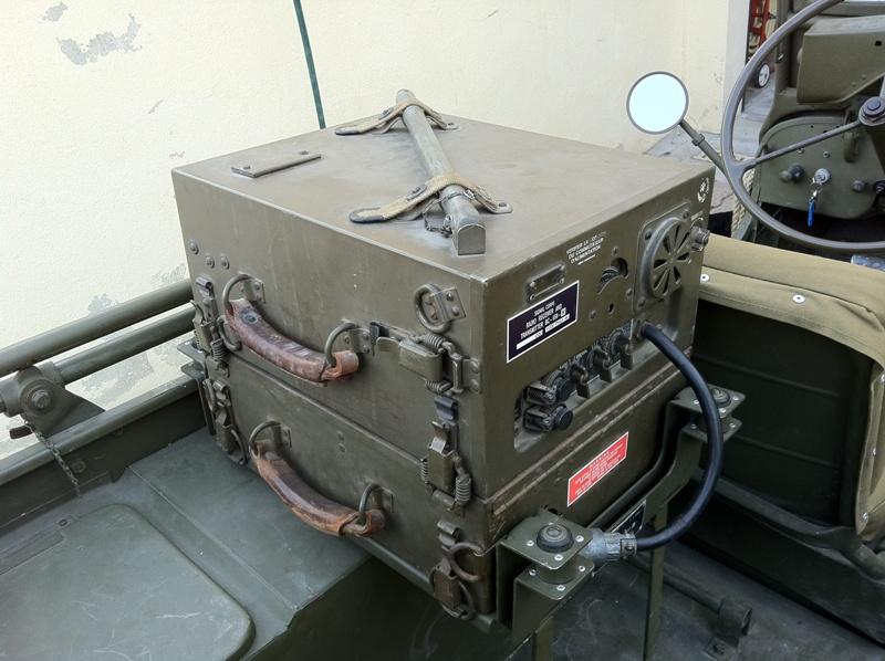 Radio BC659 US ww2 pour Jeep et autres