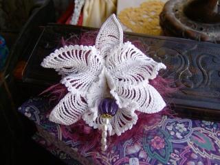Crochet Cal Orchidee Le Blog De Mes Loisirs