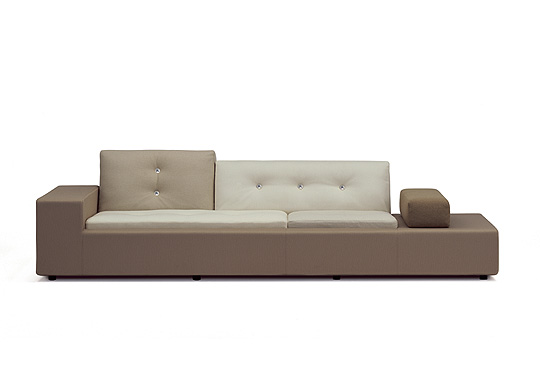 canap polder sofa by hella jongerius pour vitra. Black Bedroom Furniture Sets. Home Design Ideas