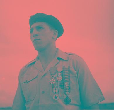 Il y a 63 ans disparaissait Roger Vandenberghe, héros de la guerre d'Indochine dans Soldats d'Elite vander12