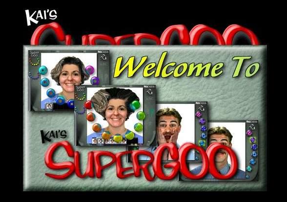 برنامج تحويل الصور الى كاريكاتير Kai's SuperGOO v1.0