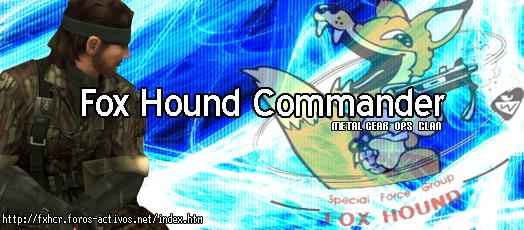 Fox Hound Commander