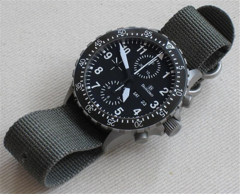 Pilot chrono for Damasko watches