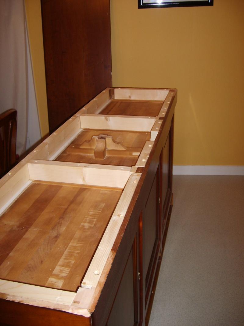 Modidfication d 39 un meuble pour mon 450 litres for La galerie du meuble