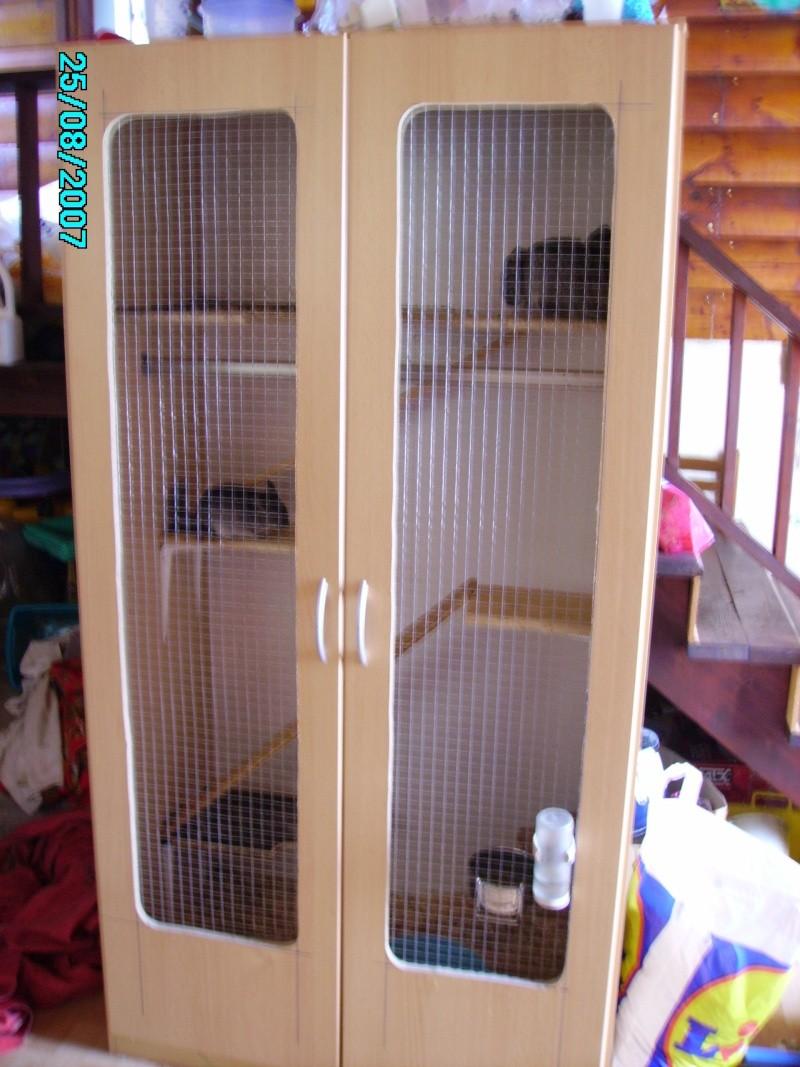 Vos cages fait maison page 3 for Abreuvoir lapin fait maison