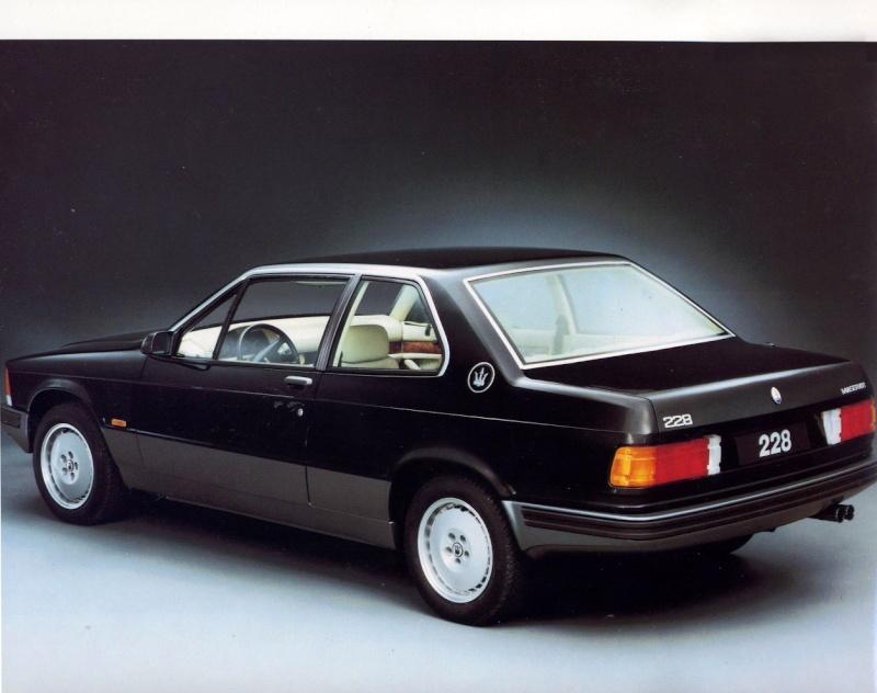 Nuovo forumista con Maserati 228i