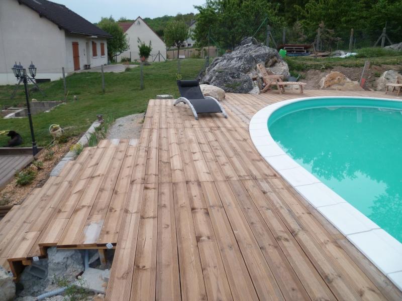 Waterair terrasse bois for Construction piscine waterair eva