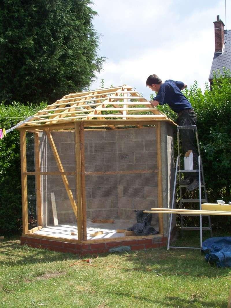 Construction de notre voliere exterieur page 2 for Voliere exterieur