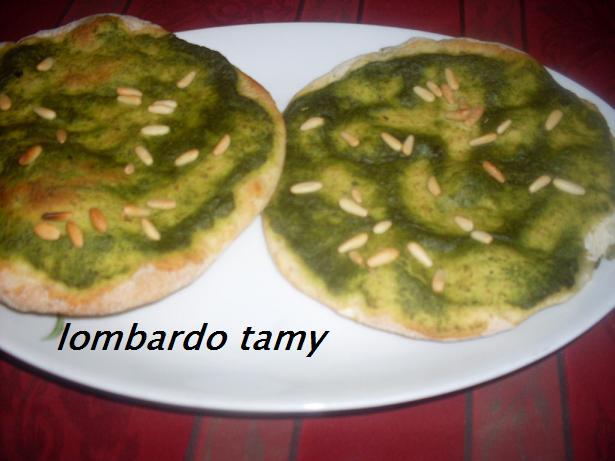 Pita et pita pizza libanaise au za3tar origan ricette tamy for Origine du mot farce