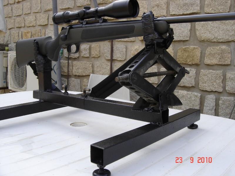 r glage carabine support de tir chevalet fait maison 0 euro. Black Bedroom Furniture Sets. Home Design Ideas