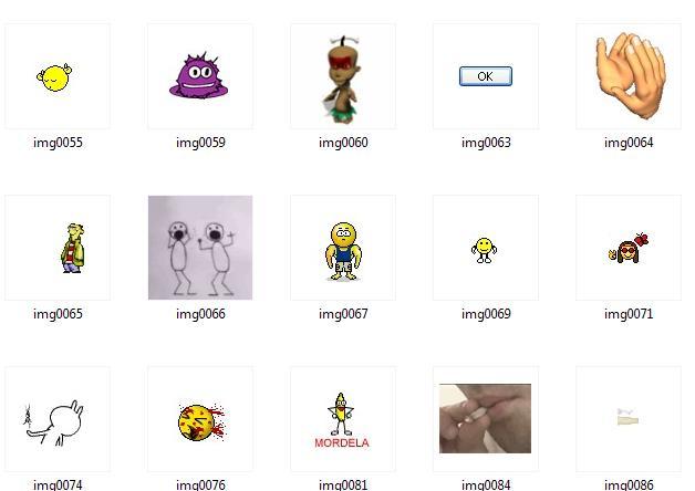 Gifs de letras, de amor, dibujos Disney. Gifs para msn y para