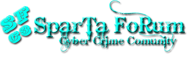 Sparta Forum|Cyber Crime Comunity