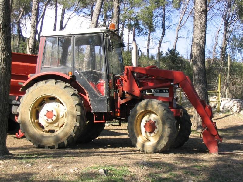 Tracteur ih 633 4x4