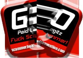 Go Paid Legitz, Fuck Scammer !