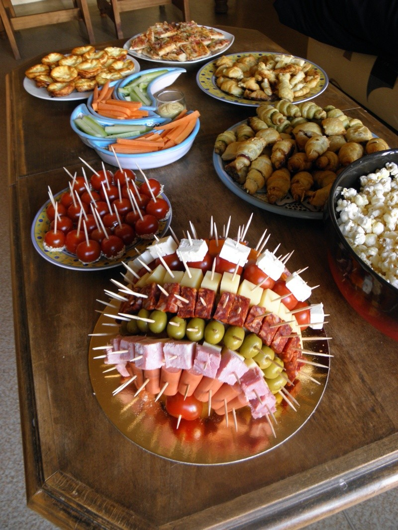 Id es pour un buffet - Idee deco buffet froid ...