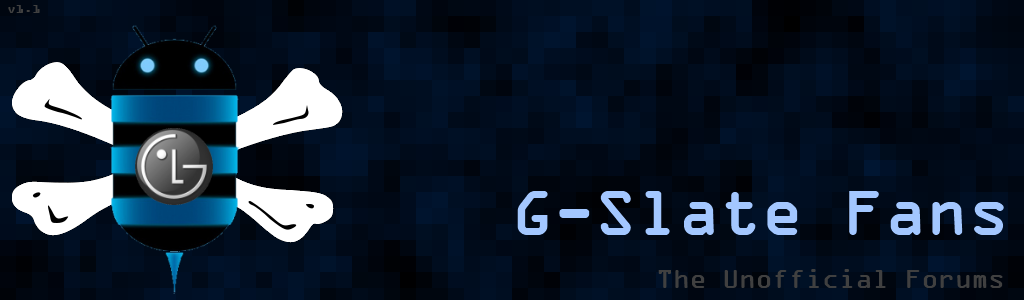 G-Slate Fans! Unofficial Forums of the LG G-Slate