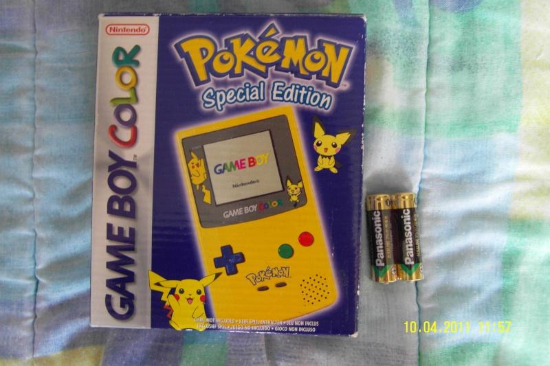 game boy color australienne avec piles pikachu - Acheter Game Boy Color Neuve