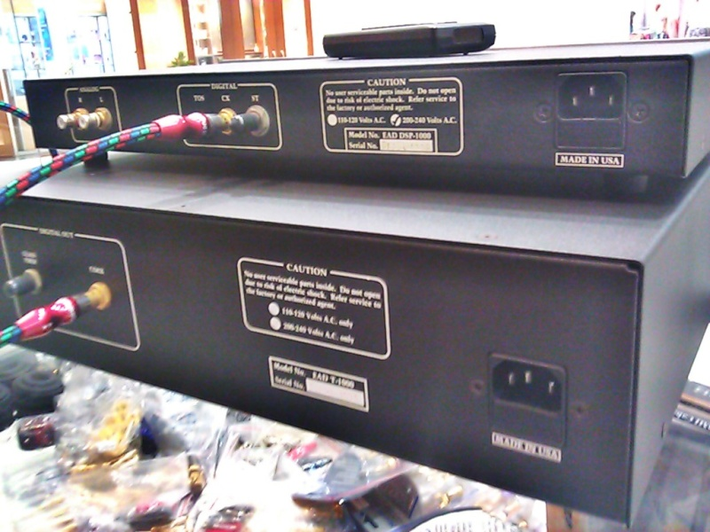 Sold E A D T 1000 Cd Transport Amp Dsp 1000 Series Iii Dac