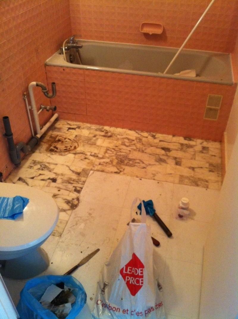 Nouveau d fi relooker une salle de bains viellote for Relooker une salle de bain