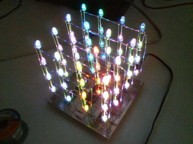 схемы led cube - Практическая схемотехника.